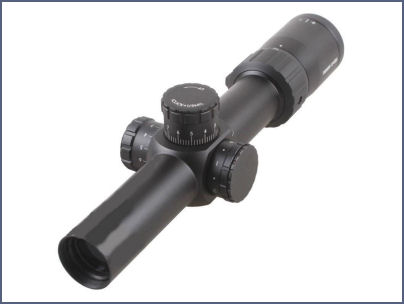 Lunette de chasse 1,2-6x24 HUNTER 30 mm DIGITAL OPTIC